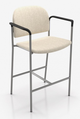 Bariatric Stool with Arms
