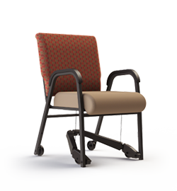 Bariatric Pivot Chair with Easy Glide