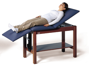 Space Saver Treatment Table