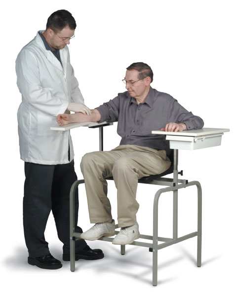 extra tall phlebotomy chair
