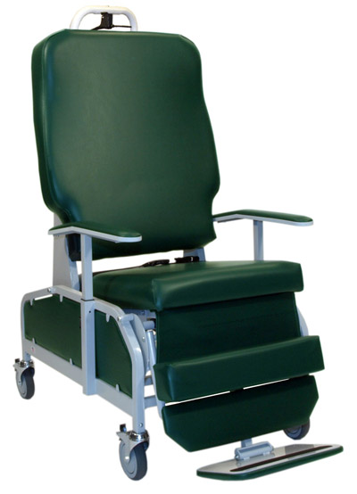 Big and Tall Transport Stretcher Chair, Heavy Duty, Over Sized, Bariatric